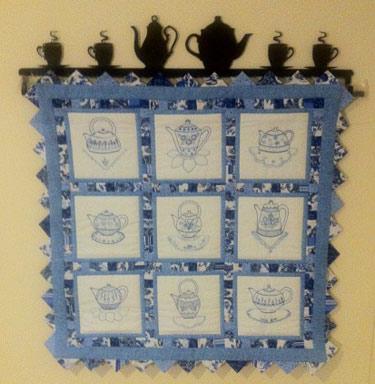 Quilt Blocks cross stitch patterns and kits