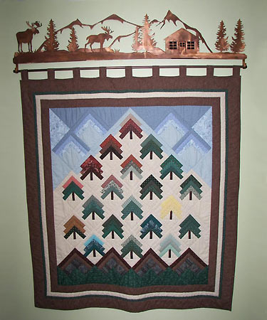 Williams Quilt with Hanger